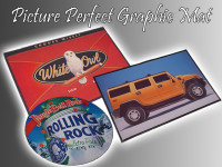 picture perfect logo mat