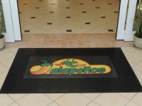 Outdoor rubber mat